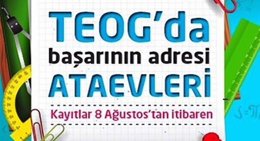 ATAŞEHİRLİ ÖĞRENCİLERE 'TEOG'A DERS VE ETÜT DESTEĞİ