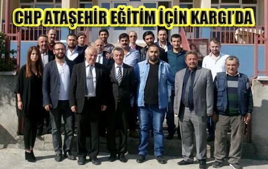 CHP ATAŞEHİR'DEN ÇORUM KARGIYA DOST ELİ