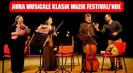 Ataşehir Klasik Müzik Festivali'nde; Aura Musicale