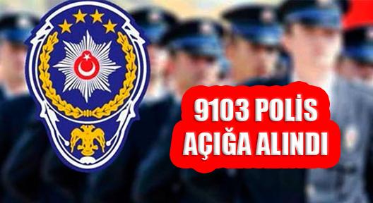 FETÖ BAĞLANTISINDAN İLLERDE AÇIĞA ALINAN POLİS
