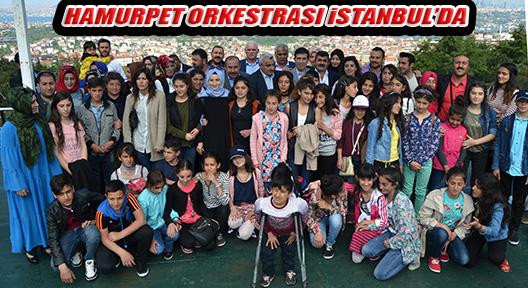 VARTOLU ÖĞRENCİLERİN HAMURPET ORKESTRASI İSTANBUL'DA