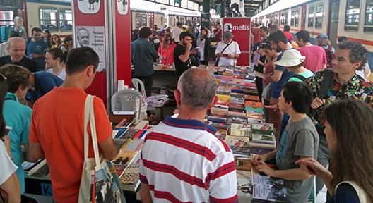 Kadıköy Haydarpaşa Garı'ndaki Kitap Yolculuğu Sona Erdi