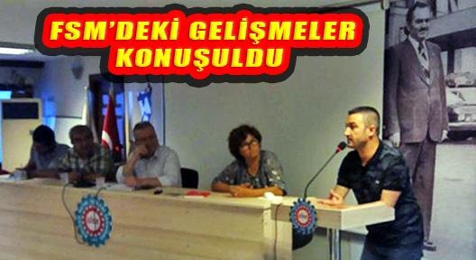 FSM HASTANESİ'NDEKİ GELİŞME İÇİN TOPLANDILAR