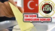 YSK 24 Haziran Seçimleri Kesin Olmayan Sonuçlarını Açıkladı