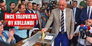 Cumhurbaşkanı Adayı Muharrem İnce Yalova'da Oy Kullandı