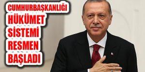 Cumhurbaşkanı Erdoğan Yemin Etti Yeni Dönem Başladı