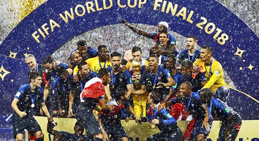 2018 Rusya FIFA Dünya Kupası Şampiyonu Fransa