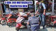 EGM, 'Son Sürat 3'te 295 Çalıntı Motosiklet Yakalandı
