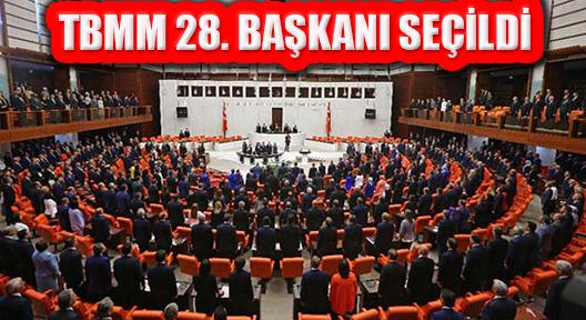 TBMM Genel Kurulda 28. Meclis Başkanını Seçti