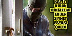 Ataşehir İçerenköy'de Kapıyı Kıran Hırsızlar Daireye Girdi