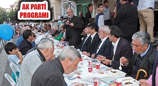 Ak Parti Ataşehir'den Kayışdağı'nda Muharrem Programı