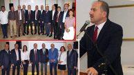 Ataşehir Kaymakamı Zafer Karamehmetoğlu'na Veda Gecesi