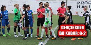 Gençleşen Ataşehir Belediye Spor'dan Bu Kadar: 0-2