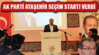 Ak Parti Atahşehir'in 'Vefa Toplantısı'nda Seçim Startı