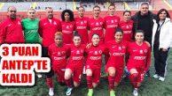 Ataşehir 3 Puanı Gaziantep'te ALG Spor'a Bıraktı