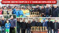 Ataşehir Amatör Kulüpleri U-12 Takımları Kupalarını Aldı