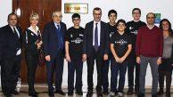 BİLSEM Robot Takımı ROBİSTİM'den Kaymakam Ertaş'a Ziyaret