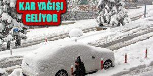 Trakya, Marmara'nın Batısı ve İstanbul'a Kar Geliyor