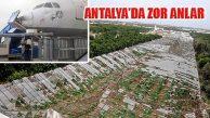 Şiddetli Yağış Ve Hortum Antalya'da Zor Anlar Yaşatıyor