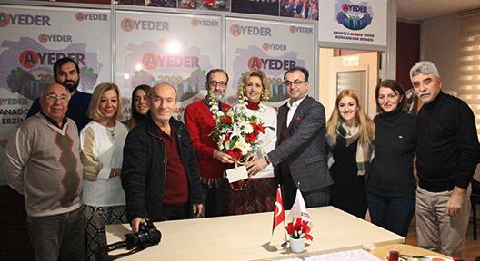 AYEDER Yönetimi Ataşehir Basınını Ağırladı