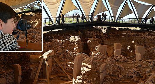 UNESCO Dünya Kültür Mirası Göbeklitepe'ye Ziyaretçi Akını