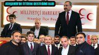 MHP Ataşehir'den Cumhur İttifakı Adayı İsmail Erdem'e Destek