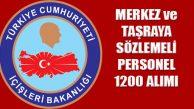 İçişleri Bakanlığı, Merkez, Taşra, Valiliklere Personel Alımı