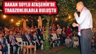 Bakan Süleyman Soylu Ataşehir'de Trabzonlularla Buluştu