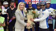 Afgan Bisikletçiler Beşiktaş Dünya Barış Parkı'nda Buluştu