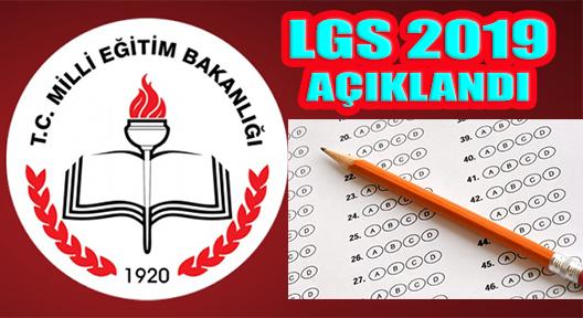 2019 LGS Sonuçları MEB Tarafından Açıklandı