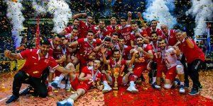 Volyebol A Milli Takımımız Avrupa Altın Ligi Şampiyonu
