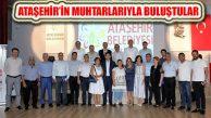 Ataşehir Kent Konseyi Muhtarların Sorunlarını Dinledi