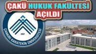 Çankırı Karatekin (ÇAKÜ) Üniversitesinde Hukuk Fakültesi Açıldı