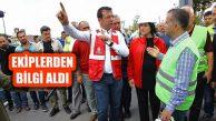 İBB Başkanı, 'Mağdur Olan Hemşehrilerimize Yardımcı Olacağız'