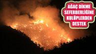 Orman Yangın Seferberliğine İzmir Kulüplerinden Destek