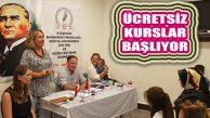 ATABARDER Barbaroslulara Ücretsiz Kursları Başlatıyor