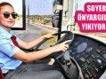 İzmir'de ESHOT'un kadın şoförler yollarda