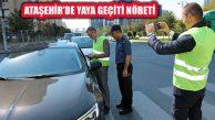 Ataşehir'de 'Yaya Geçidi Nöbeti' Etkinliği Düzenlendi