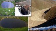 'Define' İzni Verilen 12 Bin Yıllık Dipsiz Göl Toprakla Doldu