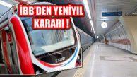 İBB'den Yeni Yılın İlk Müjdesi: İstanbul'da Ulaşım Ücretsiz!