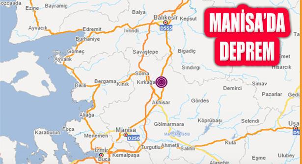 Manisa Kırkağaç Merkezli Deprem: Vatandaşlar Sokakta