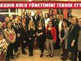 Başkan İlgezdi ve Der'den Kadın Kolu Başkanı ve Yönetimine Tebrik