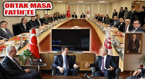 İstanbul'da Uyumlu Büyükşehir ve 39 Belediye Süreci