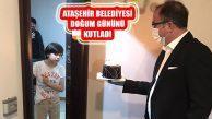 Ataşehir Belediyesi'nden Halil İbrahim'e Doğum Günü Sürprizi