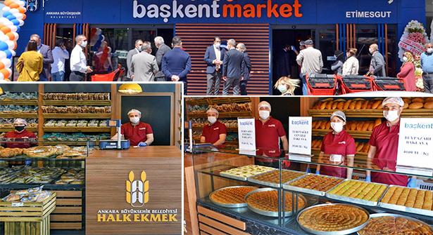 Ankara BB 'Başkent Market'in İlki  Etimesgut'ta Açıldı