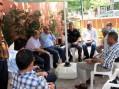 Hakkı Altınkaynak ve Sadi Özata Aşkın Şit'e Başsağlığı ve Taziye ziyaretinde