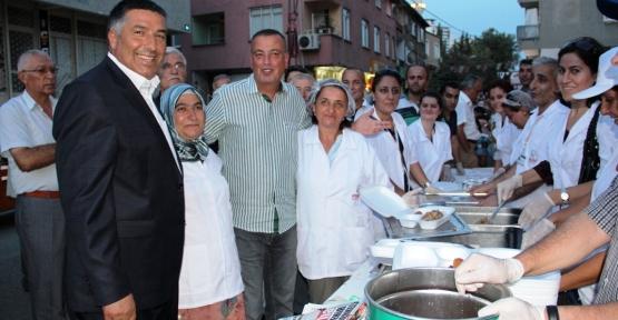 Belediye 'İftar Sofrası'nı Barbaros'ta Kurdu