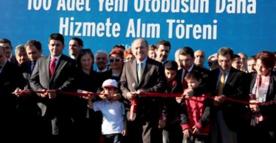 İETT'den Maltepe'ye 100 yeni Otobüs