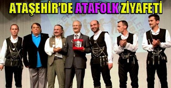 ATAFOLK'tan Ataşehirlilere Halk Oyunu Ziyafeti
