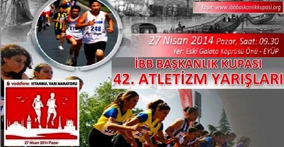 İstanbul, Bu Haftasonu Atletizme Doyacak